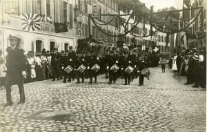 Die Kadetten führten 1915 den Rutenzug an